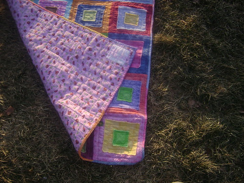 Grace Ragged Squares Quilt