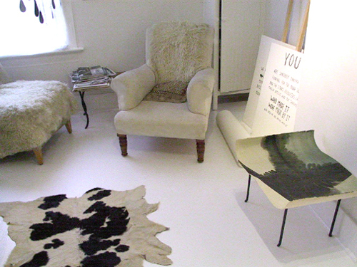 ouno design » diy: paint your linoleum floor white