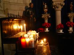 velas e santo