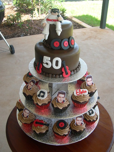 50th Birthday Cake Designs