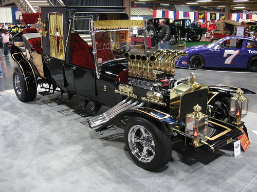 home > show photos > SEMA 2008 Pictures > The Munsters Hot Rod.