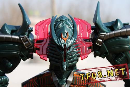 Transformers 2 juguete The Fallen cara