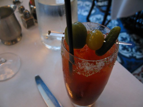 bloody mary does a hangover good