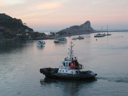 Mazatlan Harbour at Dawn