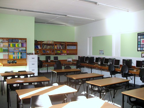 The classroom that will be used for my blog talk.