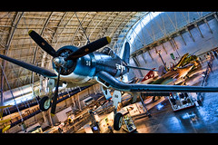 Vought F4U-1D Corsair (Jeff_B.) Tags: plane smithsonian fighter aviation air airforce worldwar stevenfudvarhazycenter