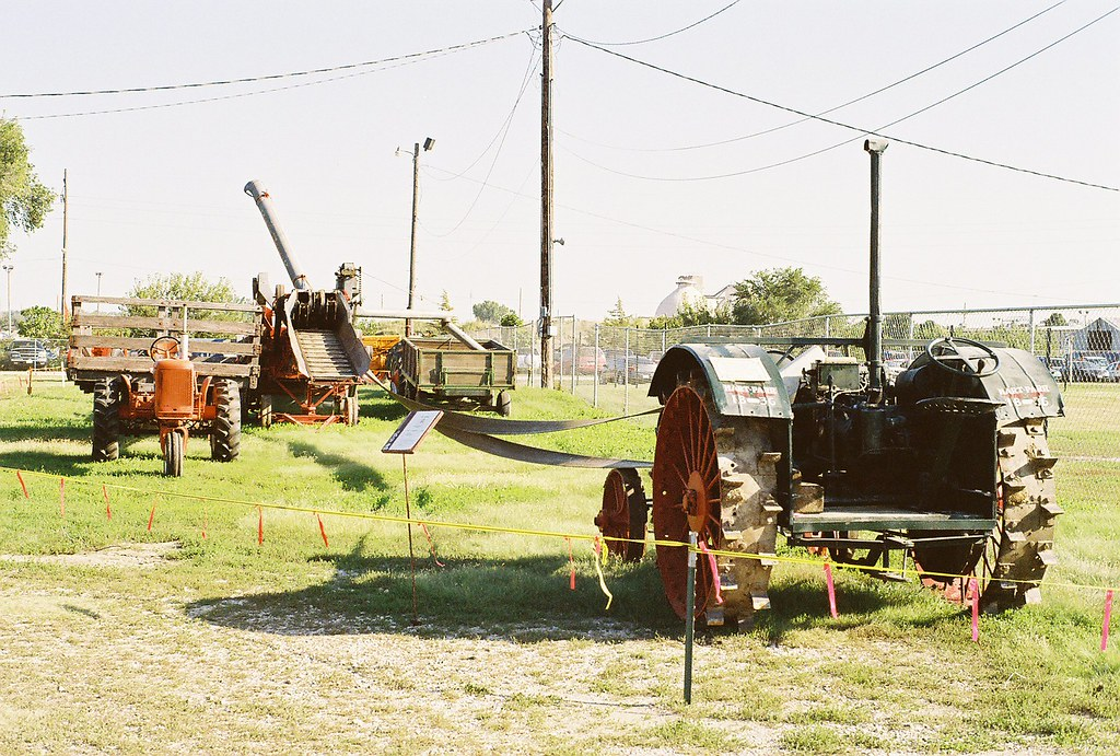 Hart-Parr 18-36 tractor and other farm equipment