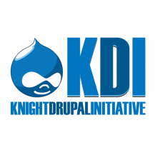 Knight Drupal Initiative logo