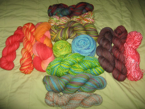 Oh my, that's a lot of yarn