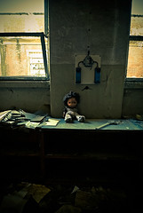 Waiting (Marco Arbani) Tags: abandoned nikon waiting doll industrial factory decay urbanexploration abandonment bambola urbex abbandono abandonments d80 bambolotto arbani marcoarbani