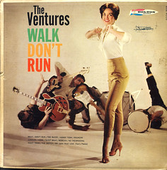 Ventures - Walk Don't Run (Benjamin D. Hammond) Tags: vintage 60s guitar vinyl fender lp record 1960s instrumental ventures