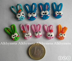 Coniglietti (Alkhymeia) Tags: bunny animal handmade bijoux polymerclay clay kawaii bead handcrafted lapin pendant hase artesania phonestrap cernit artistico coniglio polymer coniglietto bijouterie hechoamano artigianato ciondolo artigianale bizuteria polimerica bigiotteria arcillapolimerica pastasintetica bigiotterie realizzatoamano alkhymeia