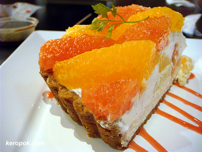 Orange and Grapefruit Tart