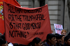 London, April 2009 (Tom Bamber) Tags: red london banner protest april srilanka banners 2009 centrallondon londonist tamiltigers april2009 110409 tamiltiger tamilprotest