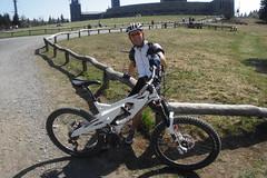 Jens mit 18kg-Rad (karsten13) Tags: feldberg 13042009