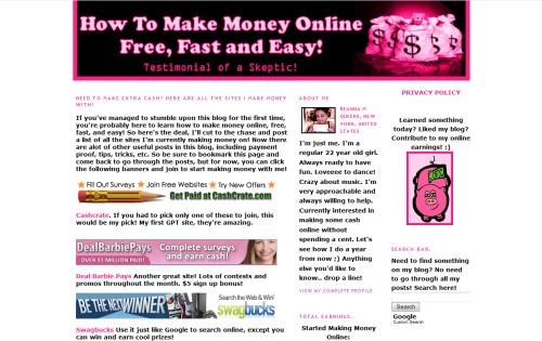 How To Make Money Online Free Fast and Easy