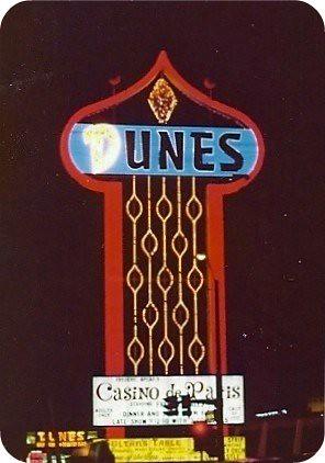 Dunes Hotel, Las Vegas, 1977