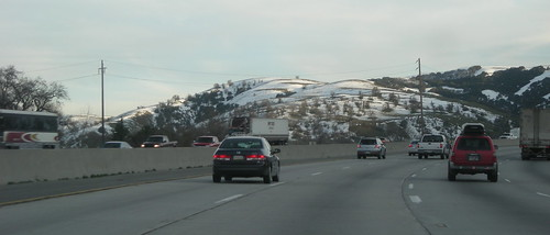 Snow on the Grapevine