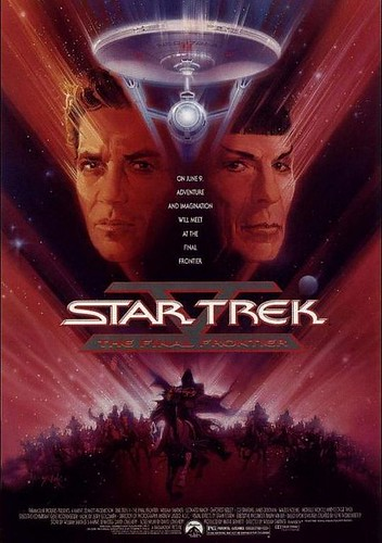 Star Trek V: The Final Frontier, star trek wallpapers, startrek enterprise voyage, Star trek movie poster