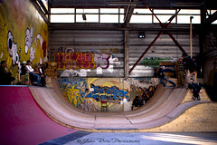 Don't skate on my ramp!! (Julien Ratel ( Jll Jnsson )) Tags: wood windows light urban bw colour grenoble canon graffiti ramp shoes couleurs interior interieur competition slide battle nb sneakers illuminated tokina event skate baskets skateboard halfpipe skater graff rider fentre grind 2009 bois color urbain competitor colourfull rampe satanicsurfers 1224f4 40d labifurk bifurk adversaire julienratel julienratelphotography gangofskaters dontskateonmyramp
