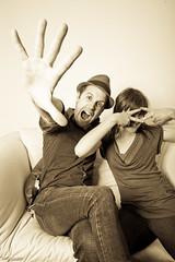 Mod Couple (T. Scott Carlisle) Tags: photobooth engagementparty tsc bhm copelands tphotographic ashleycopeland tphotographiccom tscarlisle tscottcarlisle