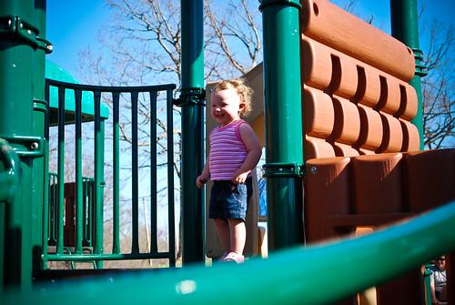 Emily Climbing