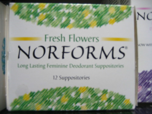 Norforms Feminine Suppositories