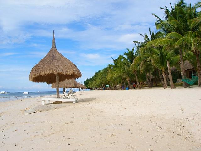 bohol island beach
