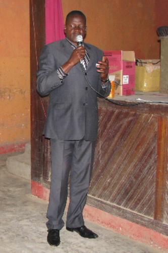 Chef de secteur Ambwe