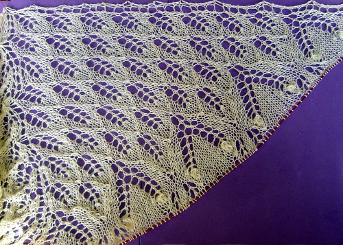 Aeolian Wedding Shawl