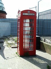 Type K6 at Greenwich (kenjonbro) Tags: red box kiosk k6 redtelephonebox se10 typek6