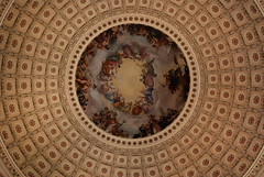 Rotunda (evanembee) Tags: architecture washingtondc architect capitol dome rotunda fresco brumidi coffers charlesbullfinch apotheosis apotheosisofwashington constantinobrumidi theapotheosisofgeorgewashington