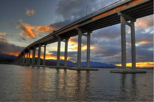 handheld 3p HDR - Tasman Bridge
