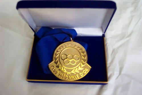 The Club Médaille d'Or Gold Medal
