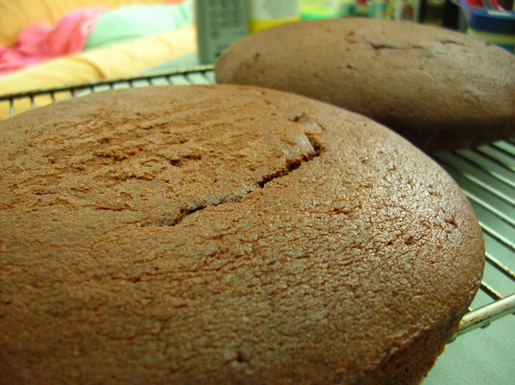 Old Fashioned Chocolate Cake 01