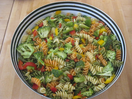 yummy pasta salad i made today