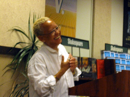 Nikki Giovanni Laughs (Click to enlarge)