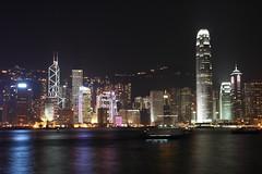 Hong Kong night scenery