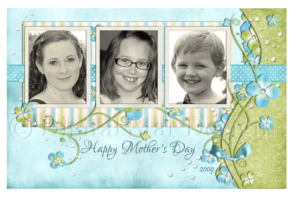 Mother's Day Card example, 6x4, full-size