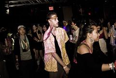 DOWN DERBY = ROLLER LOVE (groverwatts) Tags: rollerskates retro afros danceparty seventies kneehigh studiob groverwatts downderby