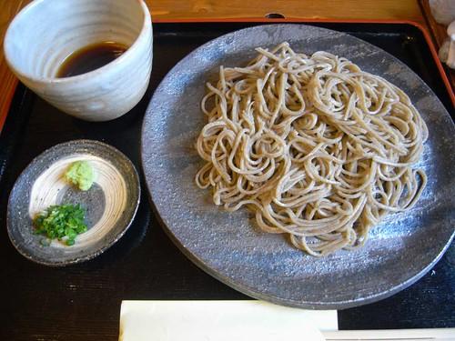 『石臼挽蕎麦 かおく』@天理-12