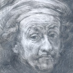 study after Rembrandt (.carito.) Tags: pencil drawing estudio study copia dibujo copy rembrandt lpiz rembrandtvanrijn