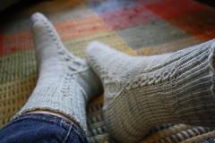 Kiila / May Mystery Socks for SKA on Ravelry
