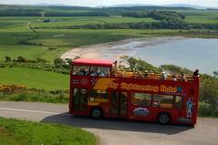 (Zak355) Tags: bus tour doubledecker rothesay opentopbus isleofbute scalpsiebay citysightseeing