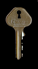 locked-key (glassdesk) Tags: key lock keyhole locksmith impossiblelock unlockkeylocklocksmithskeletonkey