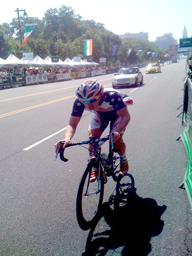 Dan Holloway of our Holowesko Partners/Felt U23 team is SEVEN minutes ahead of the field