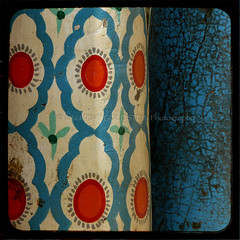 The Intention to Understand Ourselves (designldg) Tags: blue india heritage closeup pattern colours turquoise wrestling vivid panasonic varanasi wrestler tradition kashi benaras artcrafts uttarpradesh  akhara indiasong pehlwan dmcfz18