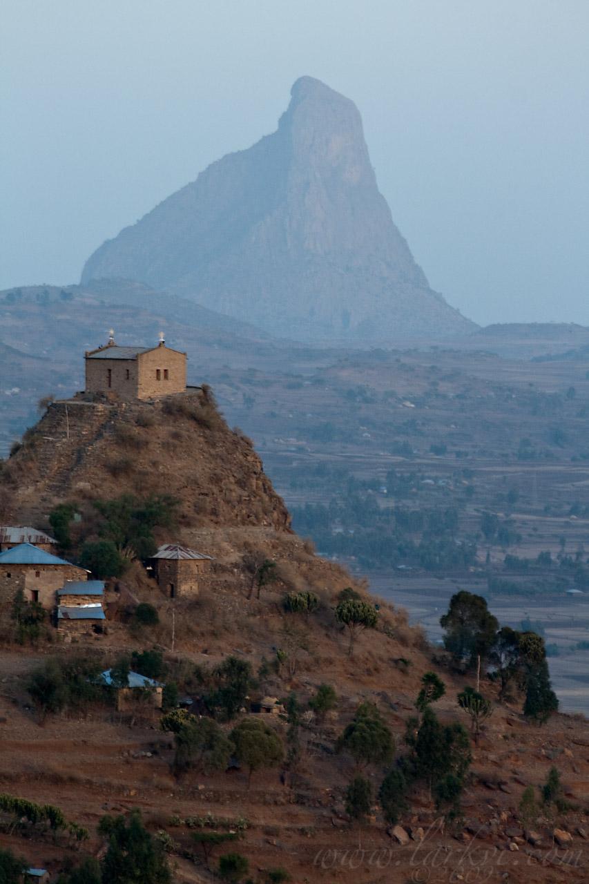 Abba Pentalewon Monaster, Axum, Tigray, Ethiopia, May 2009