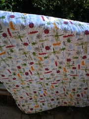 Back of the Whole Cloth Quilt