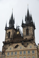 Tn Church (ChippyD) Tags: prague praha czechrepublic oldtownsquare tn tnchurch staromstsknmst tnskchrm churchofourladybeforetn kostelmatkybopedtnem